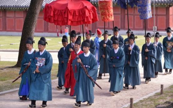 Visit Joseon palaces during royal culture festival