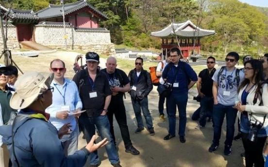 Bloggers get guided Namhansanseong tour