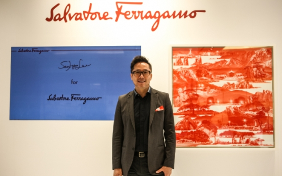 Ferragamo, Korean artist collaborate on scarves