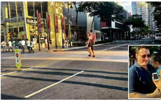 Foreigners find it more fun in the Philippines, until they cross the streets