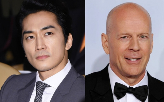 Song Seung-heon, Bruce Willis cast in Chinese war film