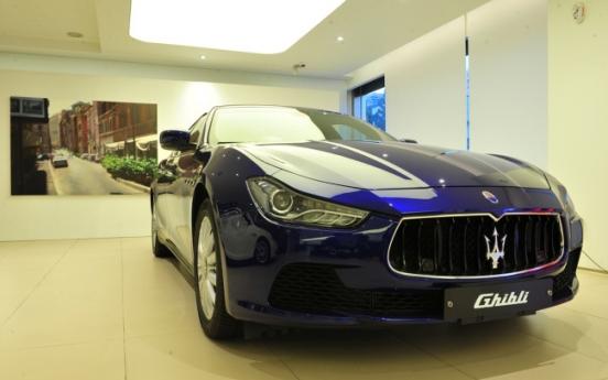 [Photo News] Maserati with Korean arts