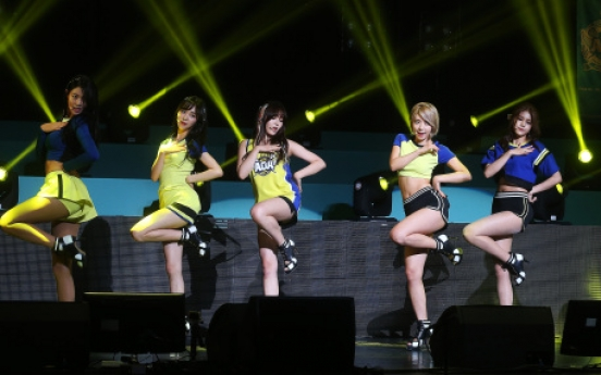 AOA goes sporty for summer on third EP