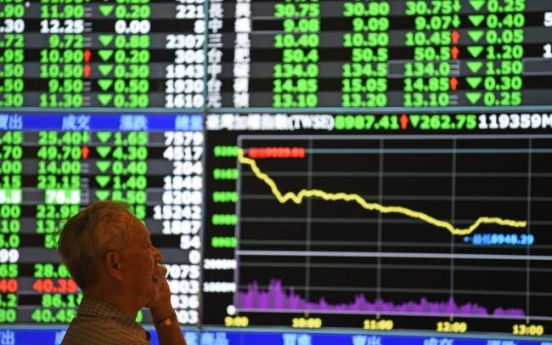 Asian stocks sink on China sell-off