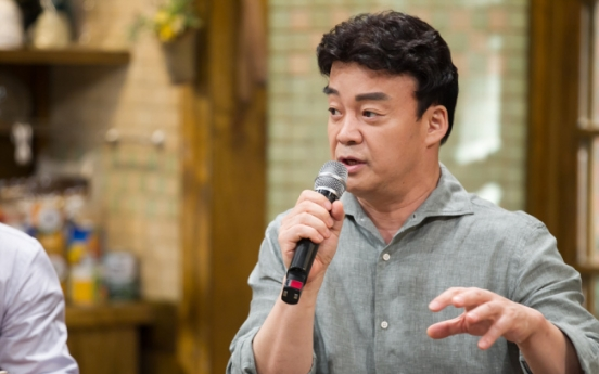 [Herald Interview] Baek Jong-won, the anti-celebrity chef