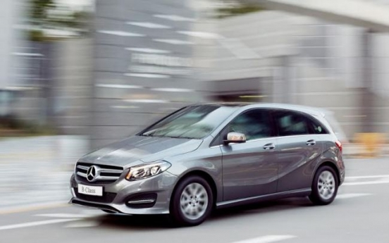 [Photo News] Mercedes-Benz releases New Generation B200 CDI