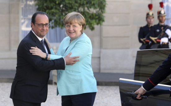 [Newsmaker] Greek crisis strains Franco-German ties