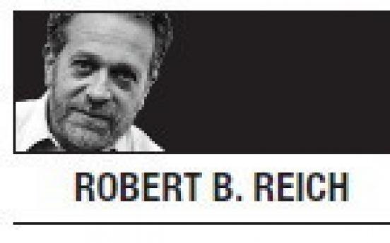 [Robert B. Reich] Revolt against the ruling class