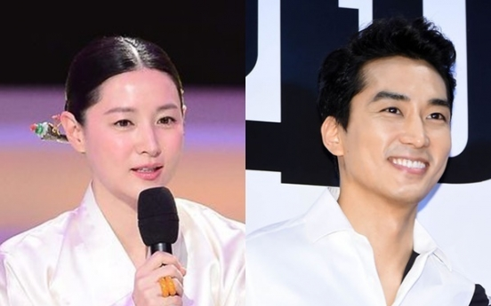 Lee Young-ae, Song Seung-heon to be lovers in new TV drama