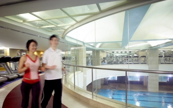Workout with professional trainers at JW Marriott Seoul