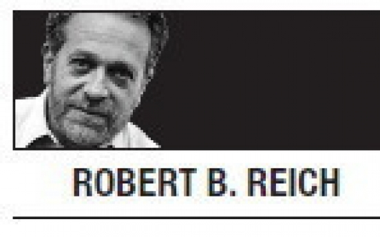 [Robert B. Reich] Hypocrisy of 'family-friendly' workplace