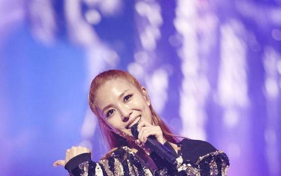 BoA performs 'dream' 15th anniversary concert