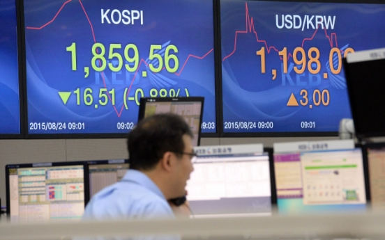 Seoul markets plunge on China, N.K. woes