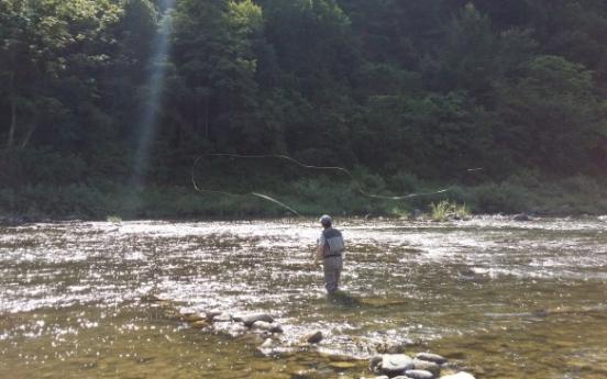 A river runs through Pyeongchang