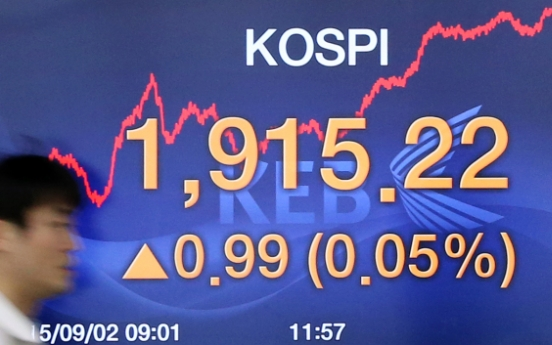 KOSPI follows Shanghai index despite U.S. stock crash