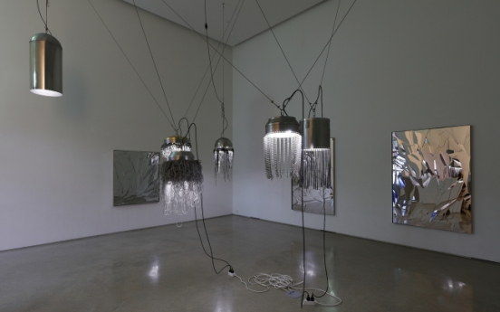 Lee Bul showcases 'micro versions' of her signature, gigantic works