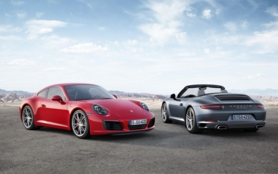 Porsche unveils new 911 carrera