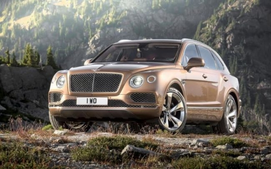 Bentley unveils SUV