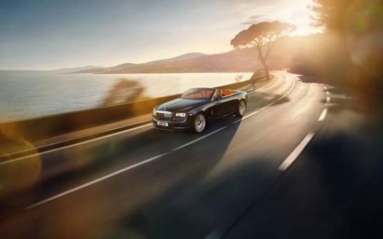 Rolls-Royce unveils 'Dawn' online