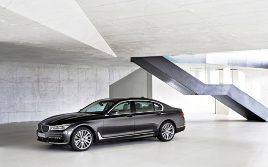 BMW gears up for top spot in luxury sedan market with new 7 Series
