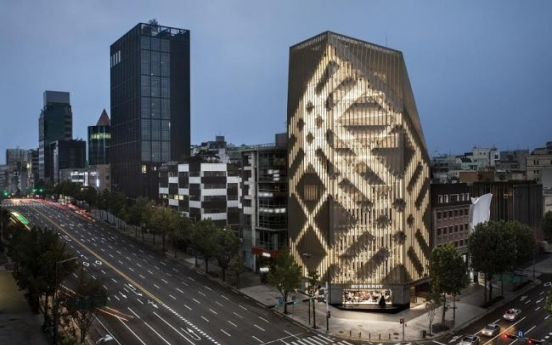 Burberry opens flagship store in southern Seoul