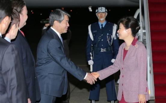 Park faces tasks after U.S. trip