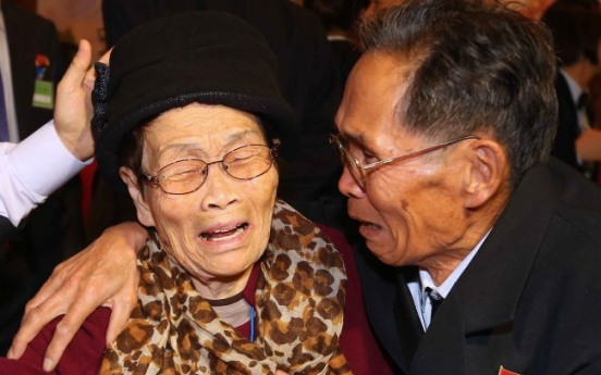 Korean families reunited after over six decades of separation