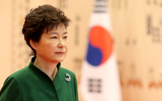 Park proposes Abe to hold summit on Nov. 2