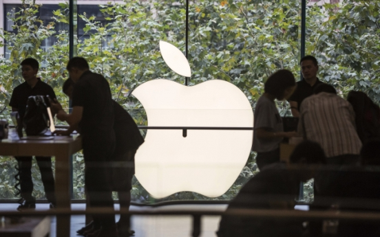 [Newsmaker] iPhone sales propel rise in Apple's profits