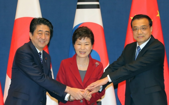 Trilateral summit spurs cooperation momentum