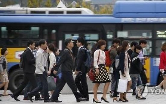 Koreans' average work hours still second-longest in OECD