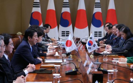 Korea, Japan in tug of war over sex slaves