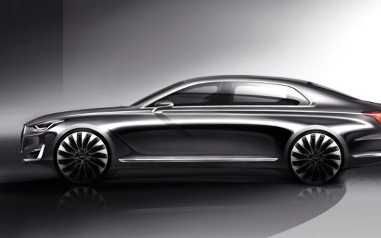 Hyundai Motor unveils first Genesis model