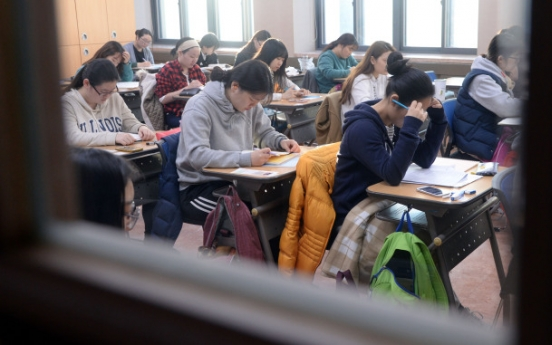 Test-takers embrace challenges of 'Suneung'