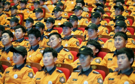 1 in 5 firefighters suffer from depression in Korea