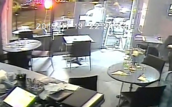 Footage of Paris terror attacks at restaurants revealed (video)