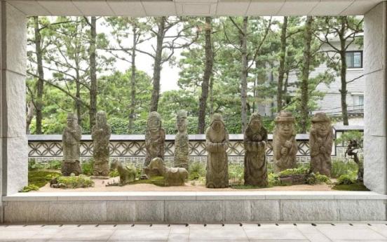 Stone statues enshrine Korean folk beliefs