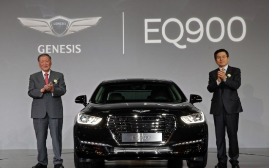 Hyundai Motor gears for upmarket with EQ900