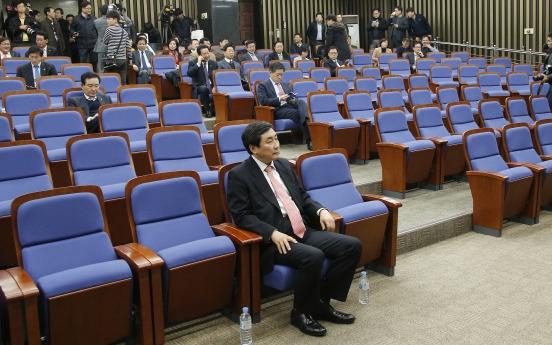 Ahn exit deja vu for opposition camp