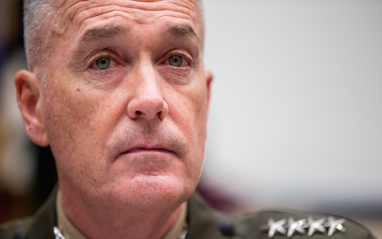 Peninsular conflict would have greater regional impacts: U.S. JCS chief