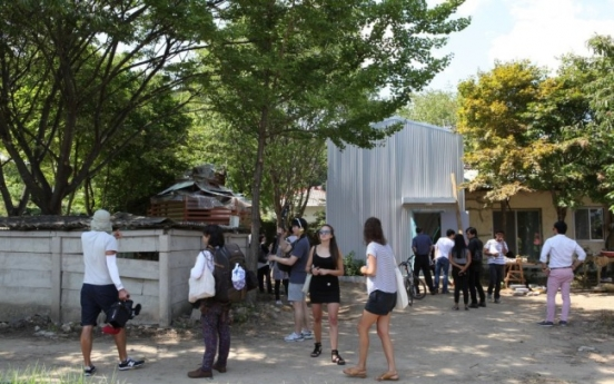 DMZ art project opens residency program in border town