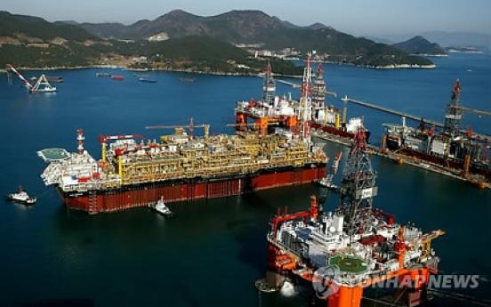 Korean shipyards to pay bonuses despite huge losses