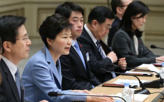 Park calls for five-way talks to disarm N.K.