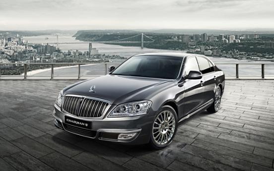 [Photo News] Ssangyong Motor releases luxury sedan