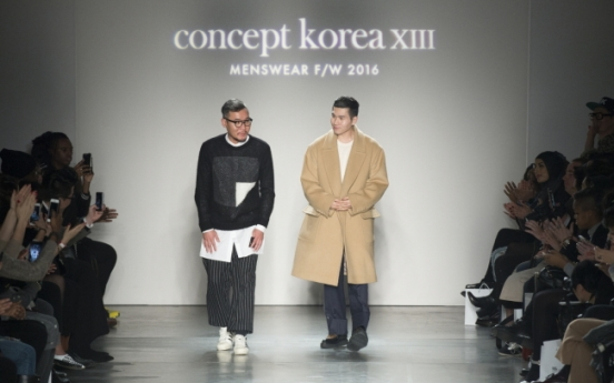 Concept Korea shows menswear at NYFW