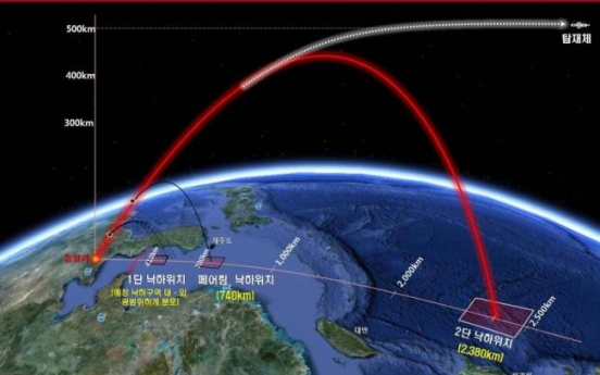 N. Korean satellite 'tumbling in orbit': U.S. reports