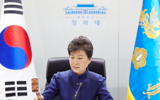 Park, Obama, Abe to cooperate for strong sanctions on N. Korea