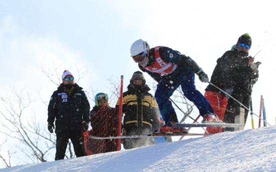 Korean alpine ski racers begin training for 2018 PyeongChang Winter Olympics