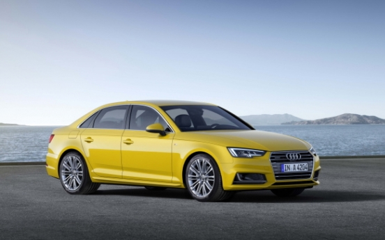 Hankook supplies premium tire for Audi A4