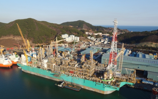 DSME completes construction of world's first offshore LNG plant